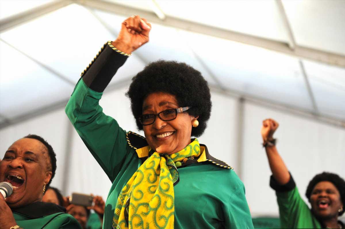 Rétrospective #14 : L'Afrique rend hommage à Winnie Mandela
